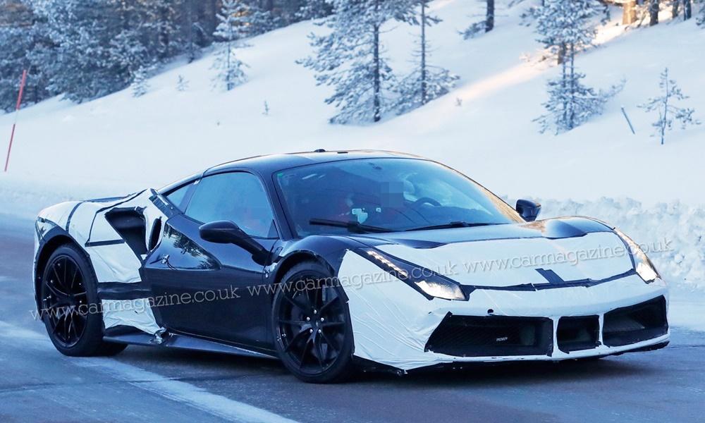 Υβριδική Ferrari με V6 κινητήρα - Φωτογραφία 3