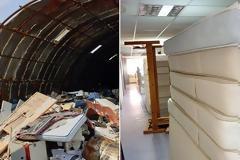 Γενικό Κρατικό Νίκαιας: Εικόνες εγκατάλειψης, σκουπίδια και εστίες μόλυνσης