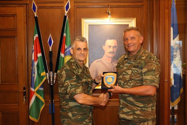 Οι Διοικητές ΑΣΔΥΣ και ΜΕΡΥΠ στην 1η Στρατιά - Φωτογραφία 3