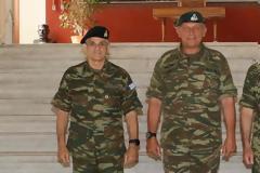 Οι Διοικητές ΑΣΔΥΣ και ΜΕΡΥΠ στην 1η Στρατιά