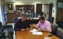 Συνάντηση του υπ. Βουλευτή της ΝΔ  Θανάση Σταυρόπουλου με τον Αντιπεριφερειάρχη Γρεβενών (εικόνες)