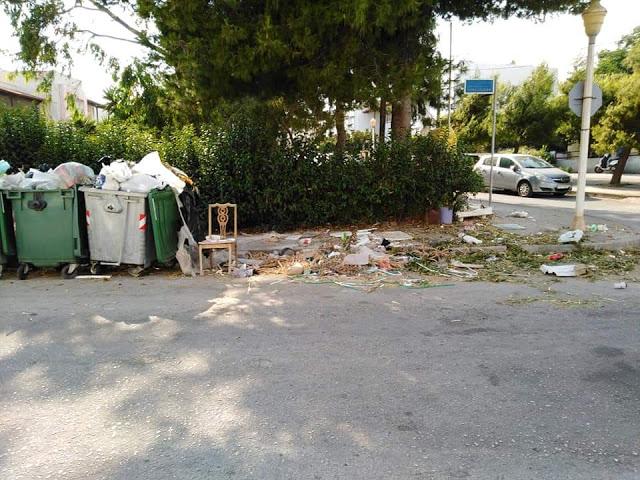 Έλλειψη καθαριότητας στο Ροδίνι - φωτος - Φωτογραφία 2
