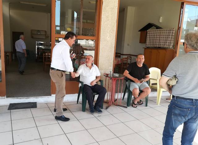 Δημήτρης Κωνσταντόπουλος: Περιοδεία στη Βόνιτσα και Επίσκεψη στο Κέντρο Υγείας Βόνιτσας - Φωτογραφία 1