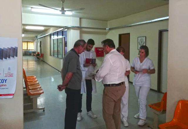 Δημήτρης Κωνσταντόπουλος: Περιοδεία στη Βόνιτσα και Επίσκεψη στο Κέντρο Υγείας Βόνιτσας - Φωτογραφία 2