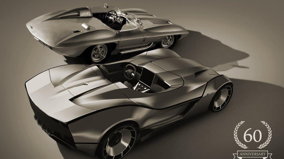 Η Corvette γιορτάζει 60 χρόνια ιστορίας Stingray Racer - Φωτογραφία 1