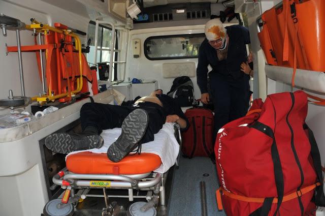 Άσκηση Μείζονος Ατυχήματος στο Ναυτικό Οχυρό Σκαραμαγκά - Φωτογραφία 5
