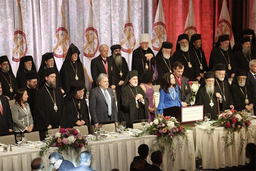 Αρχιεπίσκοπος Αμερικής Ελπιδοφόρος: Με κάθε λαμπρότητα ολοκληρώθηκε η τελετή ενθρόνισης - Φωτογραφία 2