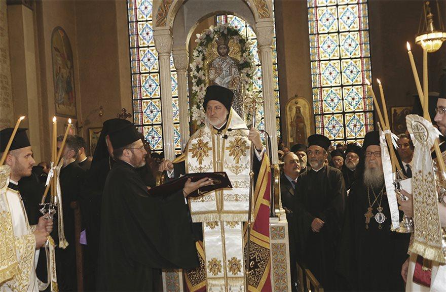 Αρχιεπίσκοπος Αμερικής Ελπιδοφόρος: Με κάθε λαμπρότητα ολοκληρώθηκε η τελετή ενθρόνισης - Φωτογραφία 3