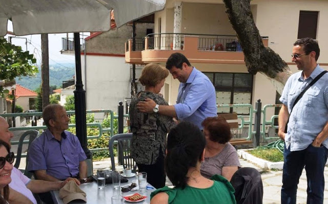 Οι επισκέψεις του υπ. βουλευτή Γρεβενών Θανάση Σταυρόπουλου την Κυριακή (εικόνες) - Φωτογραφία 4