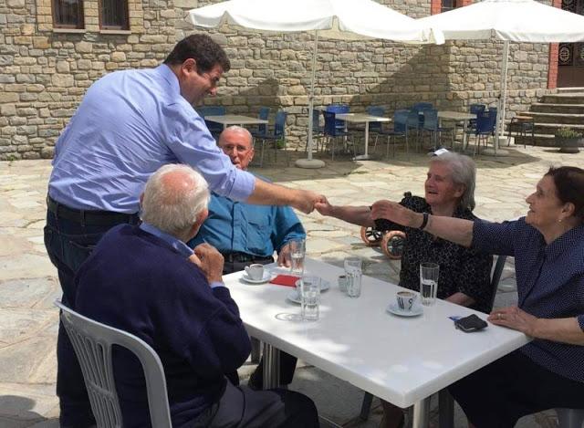 Οι επισκέψεις του υπ. βουλευτή Γρεβενών Θανάση Σταυρόπουλου την Κυριακή (εικόνες) - Φωτογραφία 7