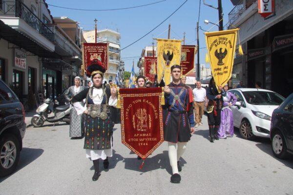 12179 - Ο ευσεβής λαός της Δράμας αποχαιρέτησε την Αγία Ζώνη - Φωτογραφία 7