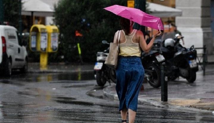 Ισχυρές βροχές και χαλαζοπτώσεις σήμερα Δευτέρα στη Βόρεια Ελλάδα - Φωτογραφία 1