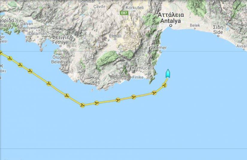 Έφτασε το «Γιαβούζ» στην Αττάλεια: Επόμενος προορισμός η... Καρπασία στην Κύπρο - Φωτογραφία 3