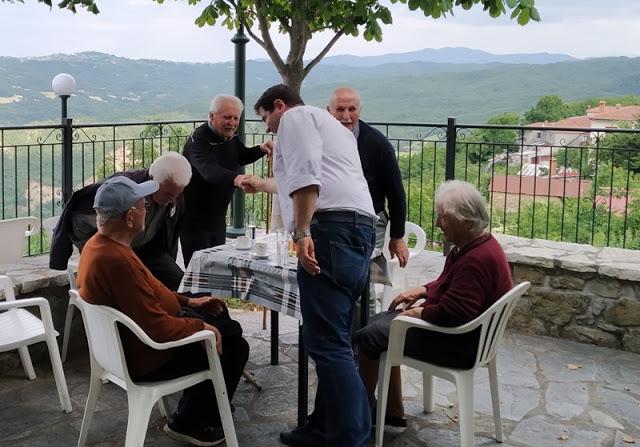 Οι επισκέψεις της Δευτέρας (24-6) του υπ. βουλευτή Γρεβενών Θανάση Σταυρόπουλου - Φωτογραφία 5