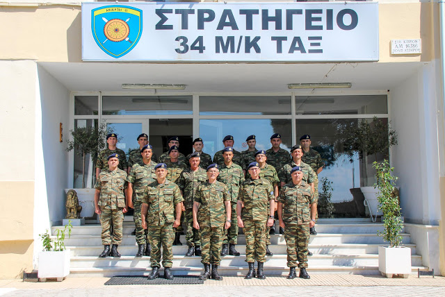 Επίσκεψη Αρχηγού ΓΕΣ στην Περιοχή Ευθύνης του Γ΄ΣΣ - Φωτογραφία 1