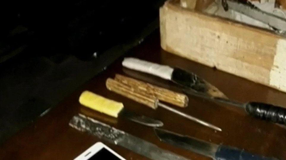 Φυλακές Κορυδαλλού: Με λόγχες, χατζάρια και σανίδες με καρφιά ήταν οπλισμένοι οι κρατούμενοι! - Φωτογραφία 1