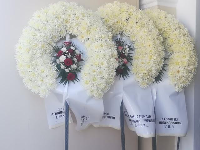Θρήνος στην κηδεία του ΔΗΜΗΤΡΗ ΚΟΘΡΟΥΛΑ στην ΚΩΝΩΠΙΝΑ – [ΔΕΙΤΕ ΦΩΤΟ-BINTEO] - Φωτογραφία 9