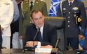 ΤΩΡΑ - Στο Γενικό Επιτελείο Στρατού ο ΥΕΘΑ Νίκος Παναγιωτόπουλος
