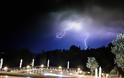 Aπίστευτες φωτογραφίες: Η στιγμή που Κεραυνοί χτυπάνε στην ΠΑΛΑΙΡΟ