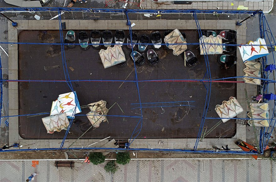 Η καταστροφή στη Χαλκιδική από ψηλά - Φωτογραφία 11