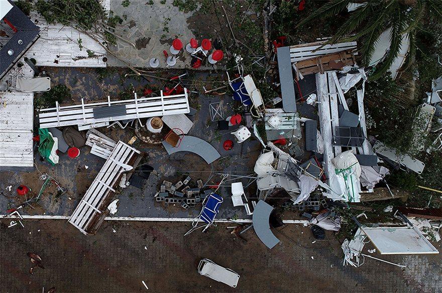 Η καταστροφή στη Χαλκιδική από ψηλά - Φωτογραφία 7