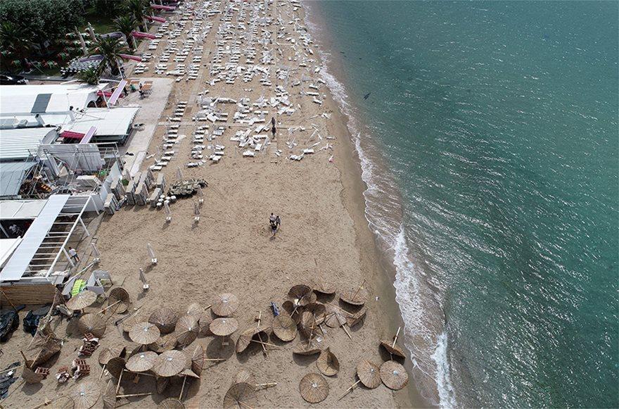 Η καταστροφή στη Χαλκιδική από ψηλά - Φωτογραφία 8