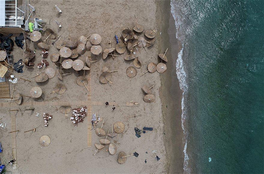 Η καταστροφή στη Χαλκιδική από ψηλά - Φωτογραφία 9