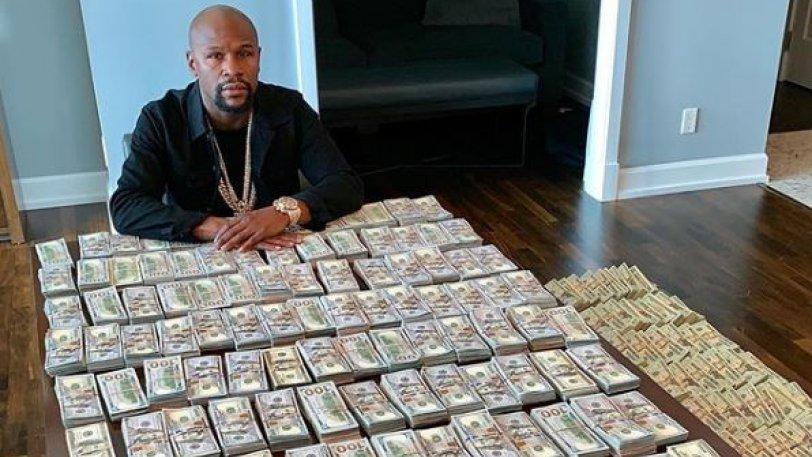 Ο Floyd Mayweather έκανε την πιο εξωφρενική επίδειξη πλούτου (vids) - Φωτογραφία 1