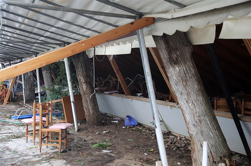 Χαλκιδική: Οι εικόνες - σοκ της καταστροφής - Φωτογραφία 14