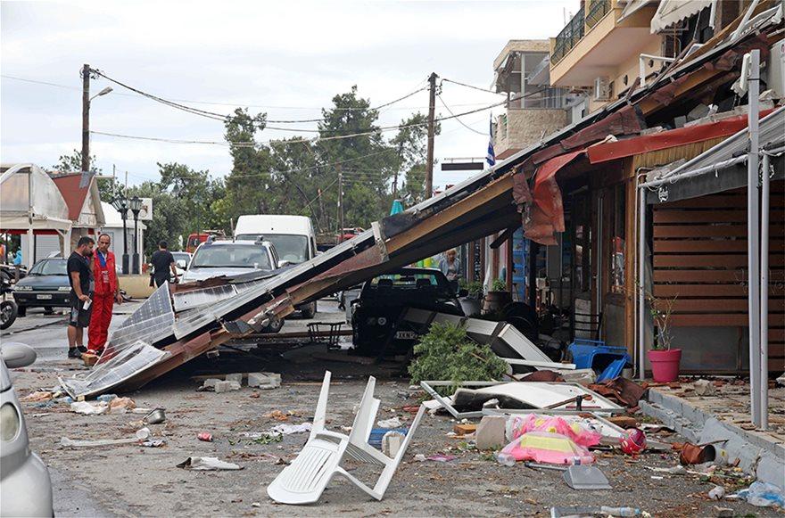 Χαλκιδική: Οι εικόνες - σοκ της καταστροφής - Φωτογραφία 19