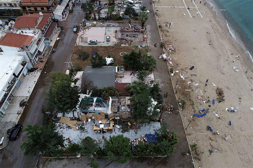 Χαλκιδική: Οι εικόνες - σοκ της καταστροφής - Φωτογραφία 23