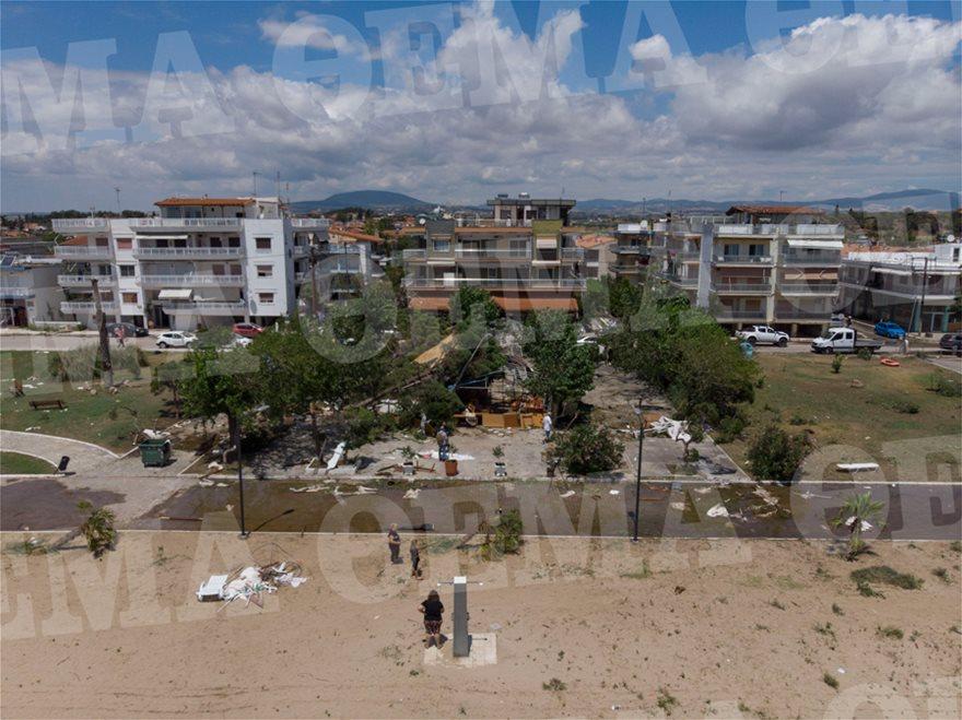 Χαλκιδική: Οι εικόνες - σοκ της καταστροφής - Φωτογραφία 4