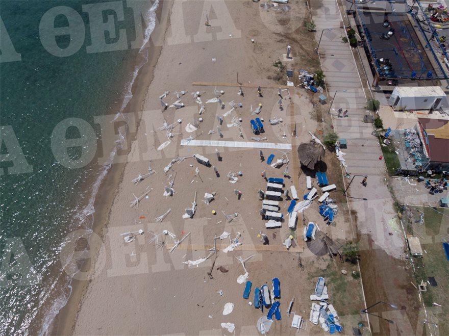 Χαλκιδική: Οι εικόνες - σοκ της καταστροφής - Φωτογραφία 7