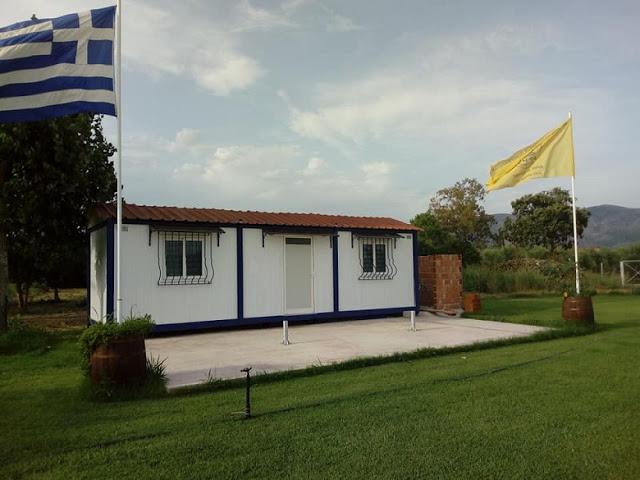 Παλαίμαχος του Άρη Αιτωλικού μετέτρεψε χωράφι σε προπονητικό γήπεδο για την αγαπημένη του ομάδα (φωτο) - Φωτογραφία 6
