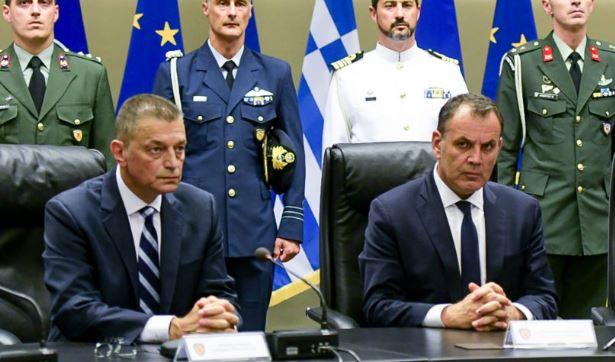 Οι στόχοι και οι προτεραιότητες στο Υπουργείο Άμυνας που έθεσε ο Κυριάκος Μητσοτάκης - Φωτογραφία 1