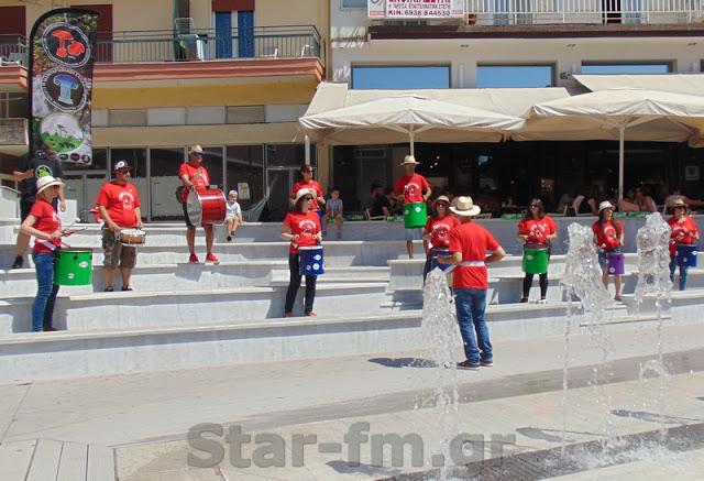 16η Πανελλήνια Γιορτή Μανιταριού στα Γρεβενά - Η Μπάντα κρουστών του Δημοτικού Ωδείου Γρεβενών στην πλατεία 12-7-19 (εικόνες + video) - Φωτογραφία 1