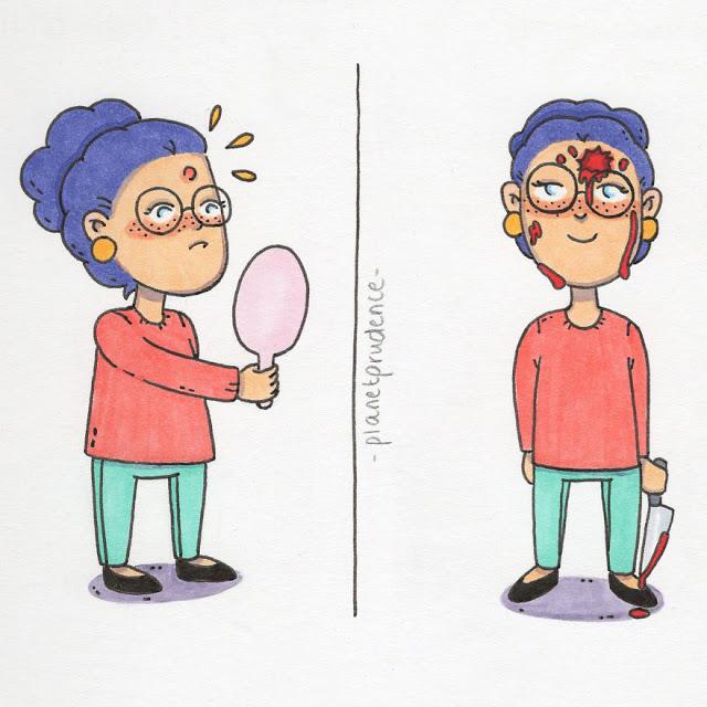 30 αστεία αλλά αληθινά σκίτσα για τα καθημερινά προβλήματα μιας γυναίκας - Φωτογραφία 7