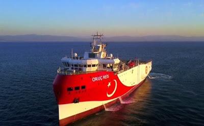 Η Τουρκία «απαντά» στην ΕΕ στέλνοντας -και- το Oruc Reis στην Κύπρο - Φωτογραφία 1