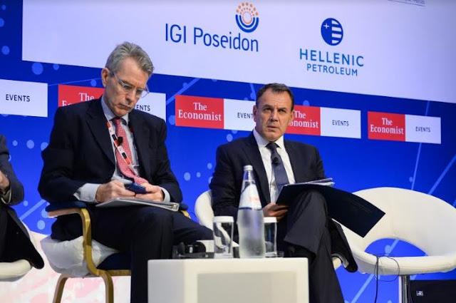 Ομιλία ΥΕΘΑ Νικόλαου Παναγιωτόπουλου στην 23η Συζήτηση Στρογγυλής Τραπέζης με την Ελληνική Κυβέρνηση, του Economist - Φωτογραφία 1