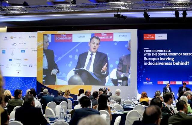Ομιλία ΥΕΘΑ Νικόλαου Παναγιωτόπουλου στην 23η Συζήτηση Στρογγυλής Τραπέζης με την Ελληνική Κυβέρνηση, του Economist - Φωτογραφία 3