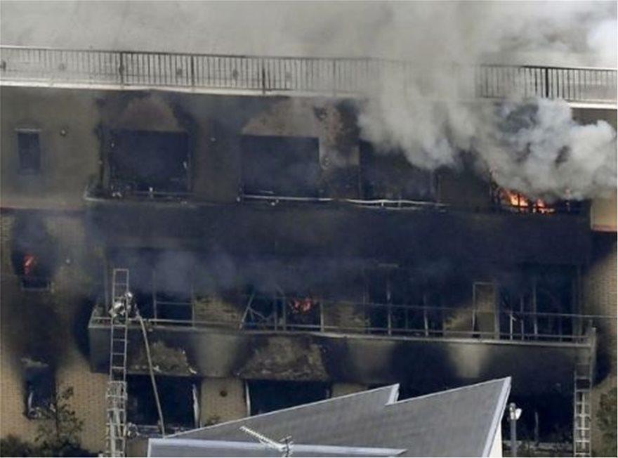 Μεγάλη φωτιά σε στούντιο ανιμέισον - Αναφορές για τουλάχιστον 12 νεκρούς και δεκάδες τραυματίες - Φωτογραφία 2