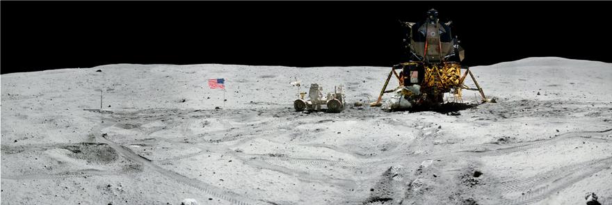 NASA: Φωτογραφικό πανόραμα για τα 50 χρόνια από το πρώτο ταξίδι του ανθρώπου στη Σελήνη - Φωτογραφία 5