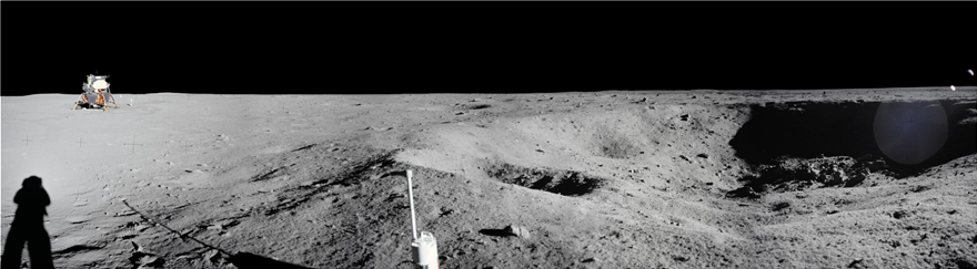 NASA: Φωτογραφικό πανόραμα για τα 50 χρόνια από το πρώτο ταξίδι του ανθρώπου στη Σελήνη - Φωτογραφία 4