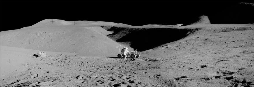 NASA: Φωτογραφικό πανόραμα για τα 50 χρόνια από το πρώτο ταξίδι του ανθρώπου στη Σελήνη - Φωτογραφία 6