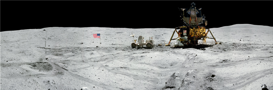 NASA: Φωτογραφικό πανόραμα για τα 50 χρόνια από το πρώτο ταξίδι του ανθρώπου στη Σελήνη - Φωτογραφία 8