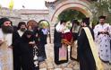 Λείψανο Οσίας Μακρίνης από το Άγιο Όρος στο Κιβέρι Αργολίδος (φωτογραφίες) - Φωτογραφία 2