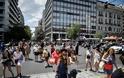 Αθήνα: Άντεξε η πόλη - Χιλιάδες κόσμου ανάστατοι στους δρόμους - Φωτογραφία 6