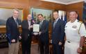 Συνάντηση ΥΕΘΑ Νικόλαου Παναγιωτόπουλου με τον Βοηθό Υπουργού Εξωτερικών ΗΠΑ κ. Philip T. Reeker