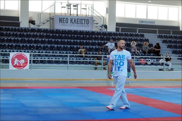 Ο Κακαρέλης Νίκος επικεφαλής  προπονητής στα μεγαλύτερα camp  taekwondo και Kick Boxing του Ιουλίου - Φωτογραφία 1