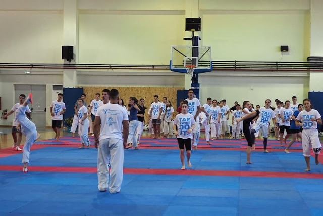 Ο Κακαρέλης Νίκος επικεφαλής  προπονητής στα μεγαλύτερα camp  taekwondo και Kick Boxing του Ιουλίου - Φωτογραφία 6